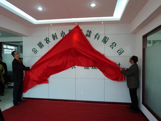 无锡金匮小额贷款股份有限公司正式挂牌成立